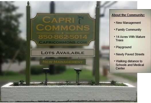 A Manufactured Home Community in Fort Walton Beach Florida